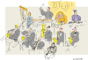 Cartoon: The Orchestra (small) by gungor tagged music