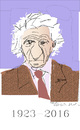 Cartoon: Yves Bonnefoy (small) by gungor tagged france