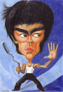 Cartoon: Bruce Lee (small) by Tomek tagged bruce lee