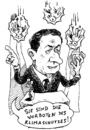 Cartoon: unverzichtbar (small) by JP tagged sarkozy,japan,fukushima,atomkraft,klimaschutz