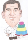 Cartoon: buddy valastro (small) by astrocaricaturas tagged cocineros