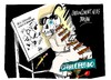 Cartoon: Charlie Hebdo-limites (small) by Dragan tagged charlie,hebdo,limites,a321,politics,cartoon