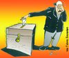 Cartoon: cries for fears (small) by johnxag tagged elections,cries,sorry,sad