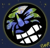 Cartoon: earth in pain (small) by johnxag tagged johnxag,earth,problem,environment,suffer,pain