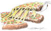 Cartoon: PIZZA (small) by ErenburgBoris tagged pizzapitch
