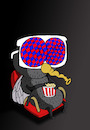 Cartoon: 3D Glasses... (small) by berk-olgun tagged 3d,glasses