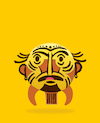 Cartoon: African Emoji Mask... (small) by berk-olgun tagged african