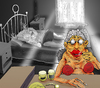 Cartoon: Alzheimer... (small) by berk-olgun tagged alzheimer