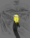 Cartoon: Autoportrait... (small) by berk-olgun tagged autoportrait