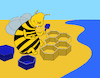 Cartoon: Baby Bee... (small) by berk-olgun tagged baby,bee