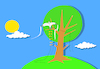 Cartoon: Bird Kite... (small) by berk-olgun tagged bird,kite