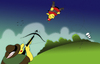 Cartoon: Catapult... (small) by berk-olgun tagged catapult