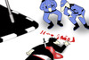 Cartoon: Difficult Crime.. (small) by berk-olgun tagged difficult,crime