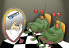 Cartoon: Discovery Channel... (small) by berk-olgun tagged discovery,channel