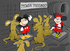 Cartoon: Mouse Tussaud... (small) by berk-olgun tagged mouse,tussaud