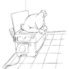 Cartoon: Office Chicken... (small) by berk-olgun tagged office,chicken