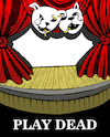 Cartoon: Play Dead... (small) by berk-olgun tagged play,dead