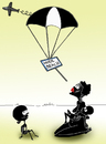 Cartoon: Psychological Support.. (small) by berk-olgun tagged nude,beach