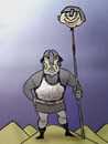Cartoon: Psychological War.. (small) by berk-olgun tagged psychological,war
