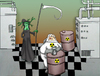 Cartoon: Radiation.. (small) by berk-olgun tagged radiation