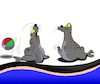 Cartoon: Seal... (small) by berk-olgun tagged seal