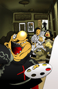 Cartoon: Selfie... (small) by berk-olgun tagged selfie