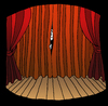 Cartoon: Stage Fright... (small) by berk-olgun tagged stage,fright