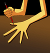 Cartoon: The Pen... (small) by berk-olgun tagged the,pen,is,mightier,than,sword