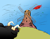 Cartoon: The Wind... (small) by berk-olgun tagged the,wind
