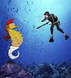 Cartoon: They Shoot Seahorse... (small) by berk-olgun tagged they,shoot,seahorse