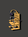 Cartoon: Thinker Chair... (small) by berk-olgun tagged thinker,chair