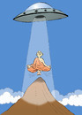 Cartoon: UFO... (small) by berk-olgun tagged ufo