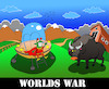 Cartoon: Worlds War... (small) by berk-olgun tagged worlds,war