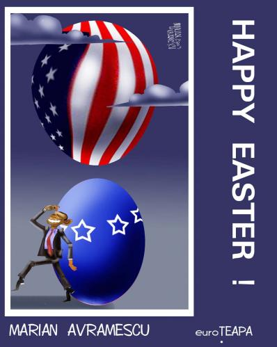 Cartoon: HAPPY EASTER (medium) by Marian Avramescu tagged mav