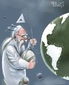 Cartoon: a cloth world (small) by Marian Avramescu tagged mmmmmmmmm