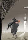 Cartoon: end (small) by Marian Avramescu tagged mmmmmmmmm