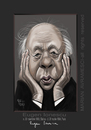 Cartoon: EUGEN IONESCO (small) by Marian Avramescu tagged mmmmmmmmm