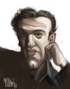 Cartoon: JASON SEGEL (small) by Marian Avramescu tagged mmmmmmmmm