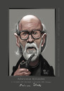 Cartoon: MIRCEA ELIADE (small) by Marian Avramescu tagged mmmmmmmmm