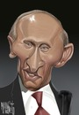 Cartoon: putin (small) by Marian Avramescu tagged mmmmmmmmmmmmmm