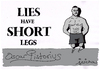 Cartoon: Lies Have Short Legs (small) by jerichow tagged oscar,pistorius