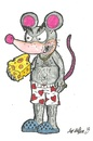 Cartoon: Grease Scaggs (small) by m-crackaz tagged rat,mouse