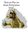 Cartoon: alf trinkt kölsch (small) by jenapaul tagged kölsch,bier,alf,ausserirdischer,alien,tv,serie