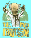 Cartoon: the mad professor (small) by jenapaul tagged professor,scientist,science,humor,society,mad