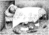 Cartoon: No title (small) by Wiejacki tagged man,kinder,spiel,fun,bett,bed