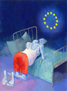 Cartoon: The Follower (small) by Wiejacki tagged europe,union