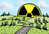 Cartoon: Sunrise of atom (small) by svitalsky tagged sunrise,nuclear,atom,energy,environment,environmentalism,ecology,nature
