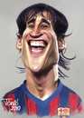 Cartoon: Bojan Krkics FC Barcelona (small) by Tonio tagged football