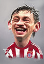Cartoon: Ivica Olic FC Bayern (small) by Tonio tagged croatisch croatia münchen football stürmer striker
