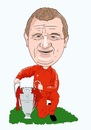 Cartoon: Paisley Liverpool Manager (small) by Vandersart tagged liverpool,cartoons,caricatures